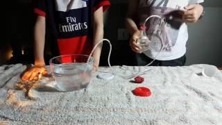 Expérience récupérer le gaz d'une boisson gazeuse  [TUTO]