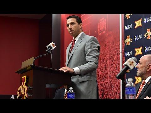 Matt Campbell Talks About Becoming Iowa State's Head Football Coach