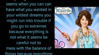 Wizards of waverly place theme song Lyrics