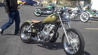 Honda Rebel CMX 250 Ride (Green) HD