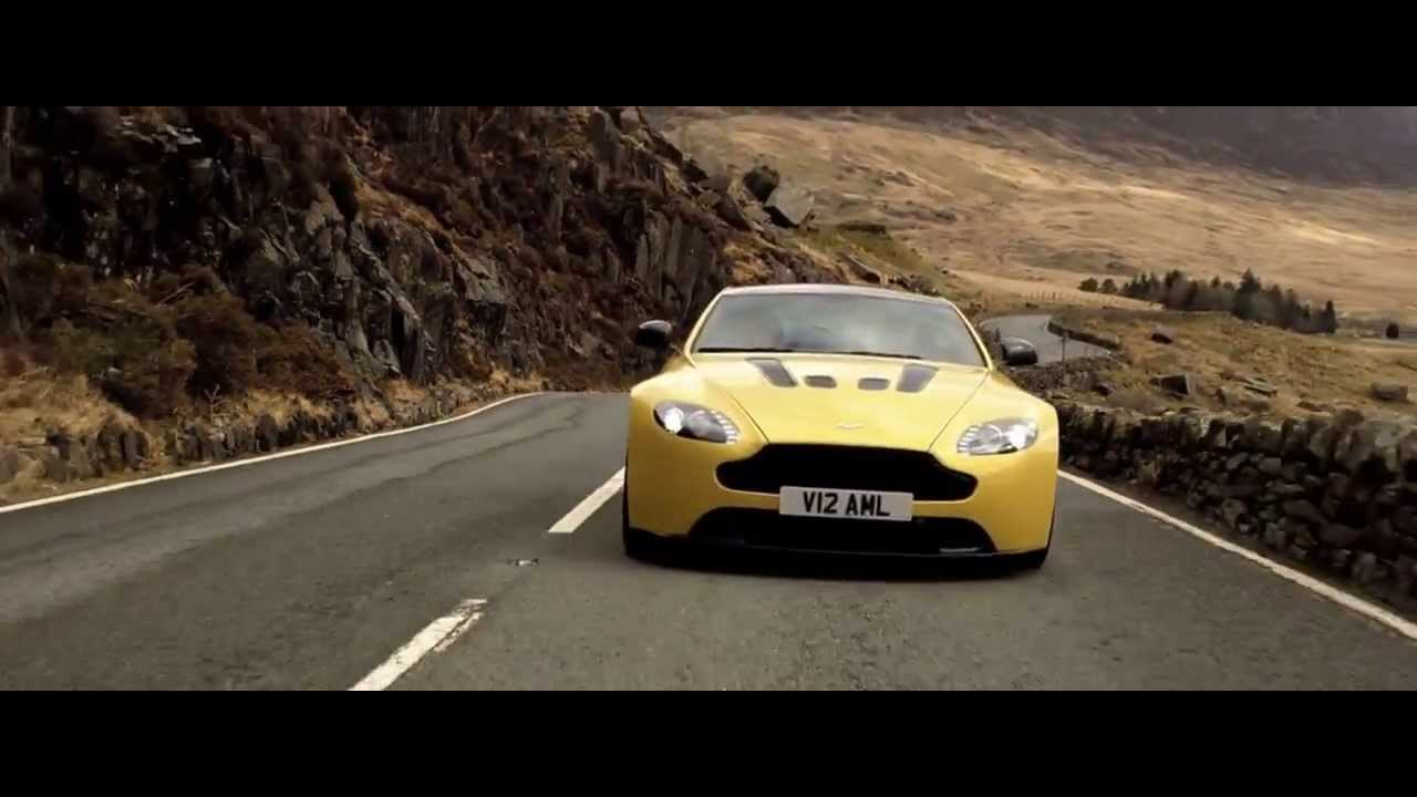2014 aston martin v12 hd new vantage s engine sound new commercial