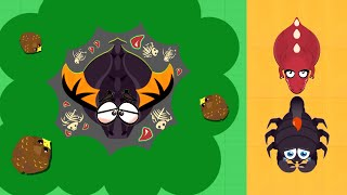 BLACK DRAGON KILLED BY GOLDEN EAGLE IN DEATH LAKE // MOPE.IO