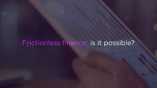 Is frictionless finance possible?
