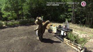 Gustav som rasende kæmpe egern!