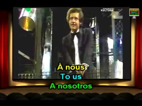 Learn French Easy with Joe Dassin, À Toi; Quickly, for Learning Difficulties