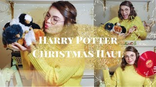 Harry Potter Christmas Haul! // jewelry, plushies, vinyl, poster, etc.