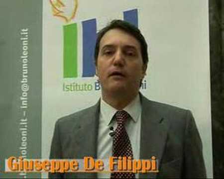 Index of Economic Freedom 2008, Giuseppe De Filippi