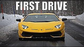 First Drive: Lamborghini Aventador Svj!!!