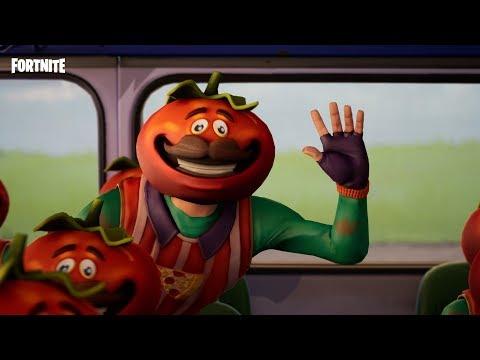 Bus Fulla Tomatoes - Fortnite Shorts