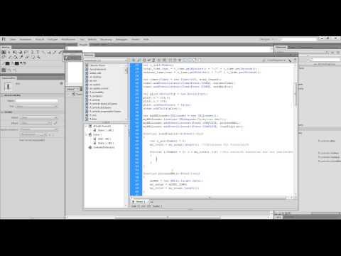 Flash Tutorial - Klickbare XML-Playlist erstellen #11
