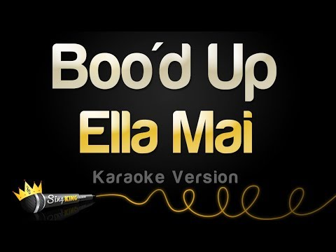 Ella Mai - Boo'd Up (Karaoke Version)