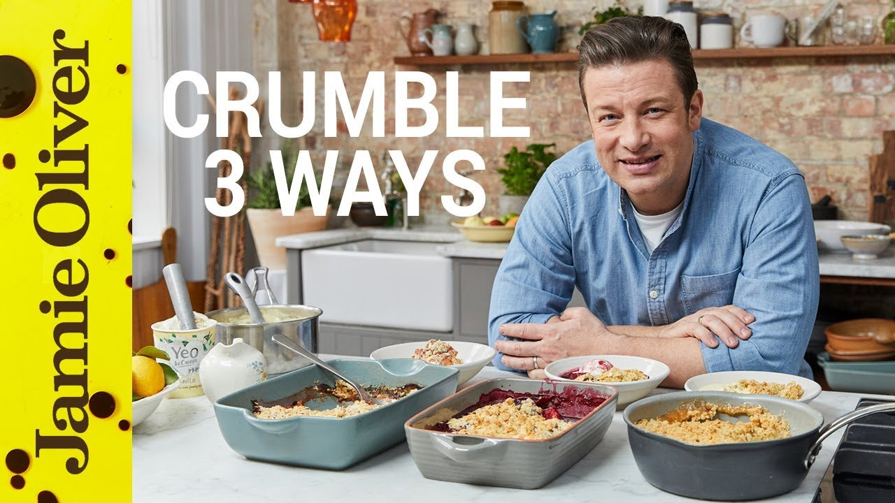 Download How to Make Fruit Crumble | Three Ways | Jamie Oliver