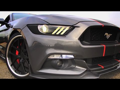 Mgp Caliper Covers On 2015 Mustang Gt Youtube