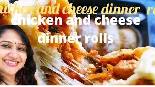 DELICIOUS CHICKEN &amp CHEESE DINNER ROLLS RECIPE      TASTIEST KITCHEN