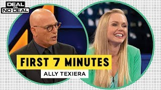 Full Opening - Ally Texeira Freezes Out The Banker   Deal Or No Deal