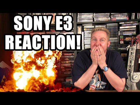 SONY E3 CONFERENCE REACTION - Happy Console Gamer