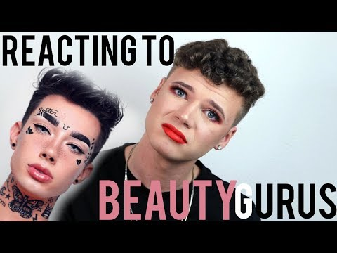 REACTING TO BEAUTY GURUS INSTAGRAM MAKEUP TUTORIALS