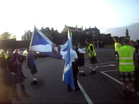 The William Wallace Society gathering at Stirling Castle