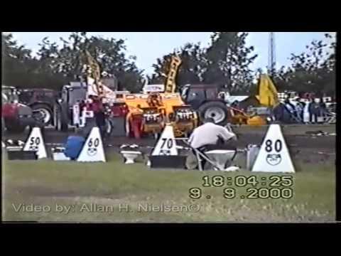 Tractorpulling European Championships  2000 Herning DK