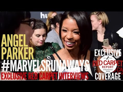 Angel Parker ed at the Premiere of Marvel's Runaways streaming on Hulu WeAskMore 