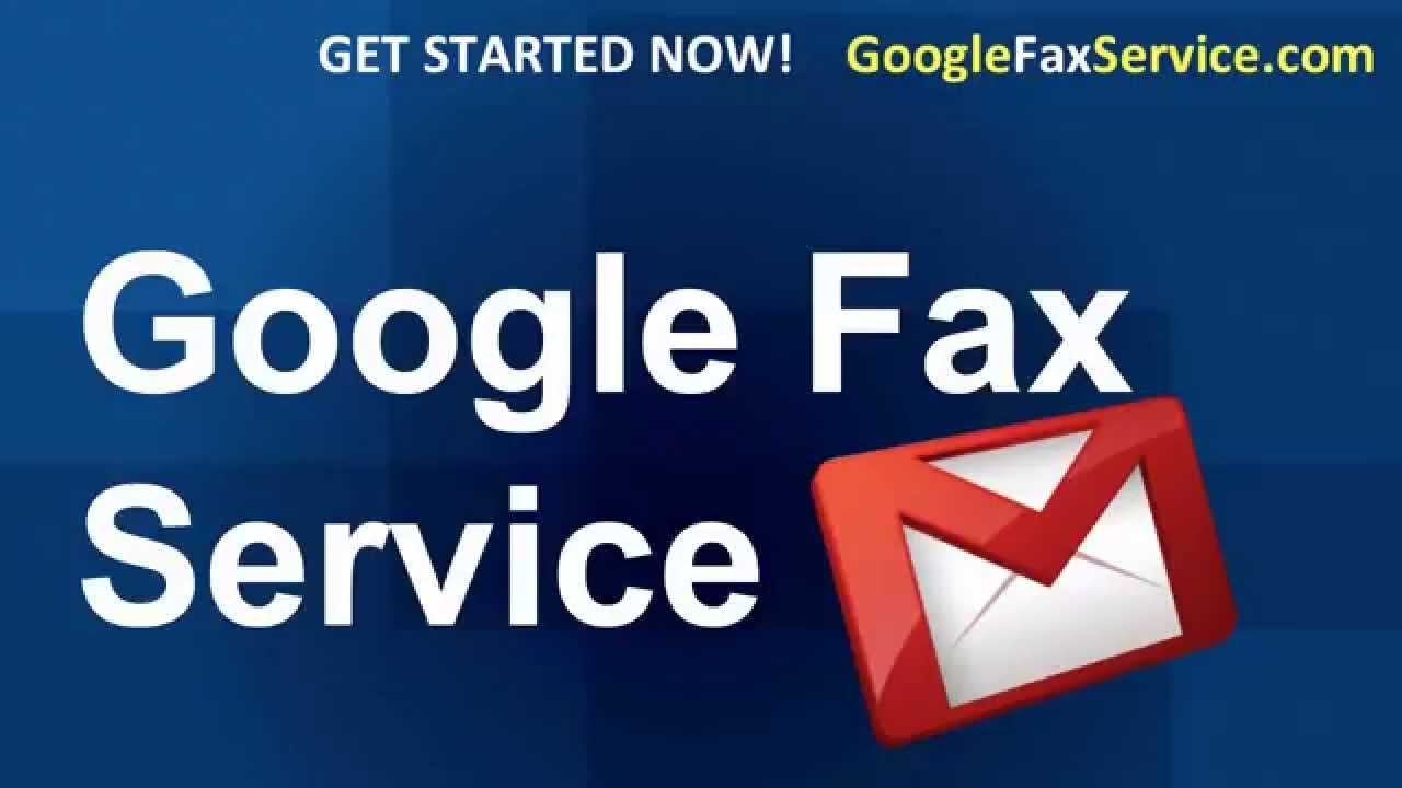how to google fax as a service for online fax using gmail youtube
