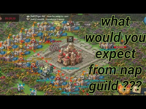 Lords Mobile   What Would You Expect From NAP Guild???  K342 WoW  April 2020