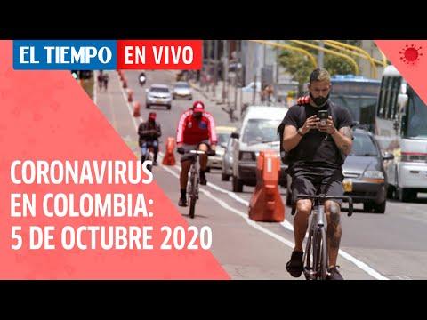 Coronavirus en Colombia: 5 de octubre del 2020