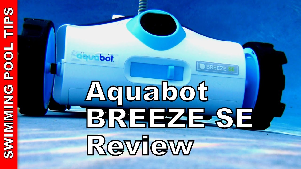 Aquabot Breeze Se Above And In Ground Robotic Pool Cleaner