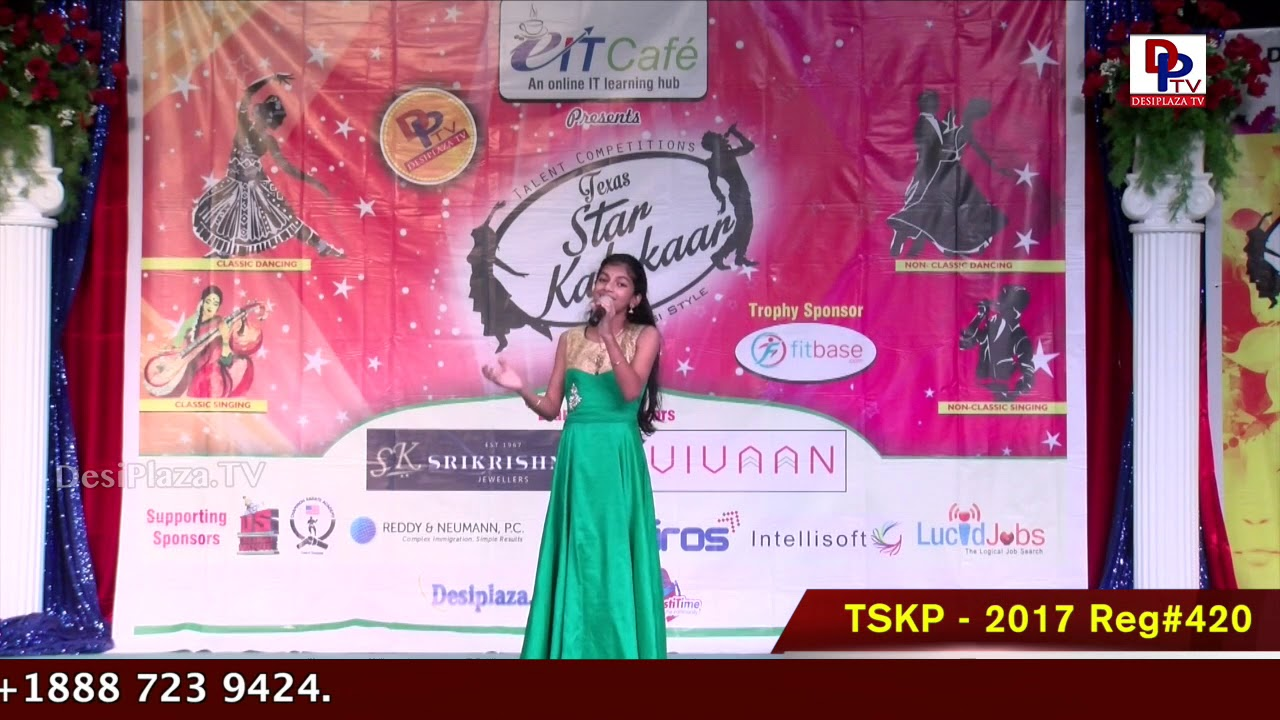 Finals Performance - Reg# TSKP2017420- Texas Star Kalakaar 2017