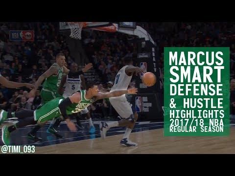 Marcus Smart Defense & Hustle Highlights 2017/18 Regular Season
