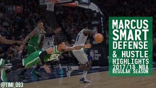Marcus Smart Defense & Hustle Highlights 2017/18 Regular Season