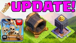 🔥BUILDER HALL 7🔥Clash of Clans UPDATE:Giant Cannon, Drop Ship, MORE!