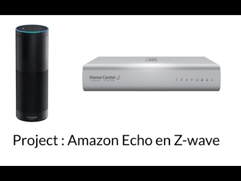 Amazon Echo connrection with Z-wave controller