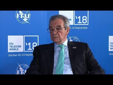ITU TELECOM WORLD 2018: César Alierta Izuel, Chairman, Foundatión Telefónica