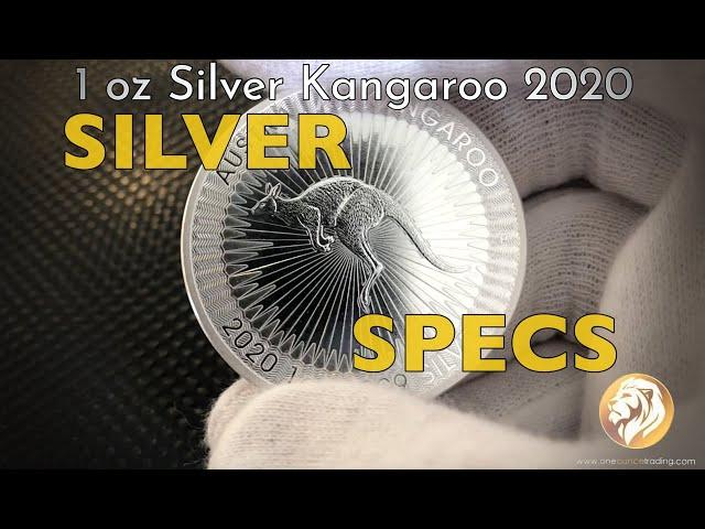 SILVER SPECS  1 oz Silver Kangaroo 2020