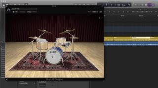 How To Create a Drum Track with Logic Pro X