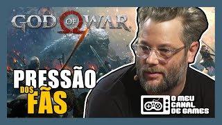 PRESSÃO DOS FÃS MUDA OS PLANOS DA SANTA MÔNICA [God of War]
