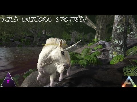 ARK: Survival Evolved - WILD UNICORN!!! S2 Ep3 (Online Gameplay) HD Your Videos