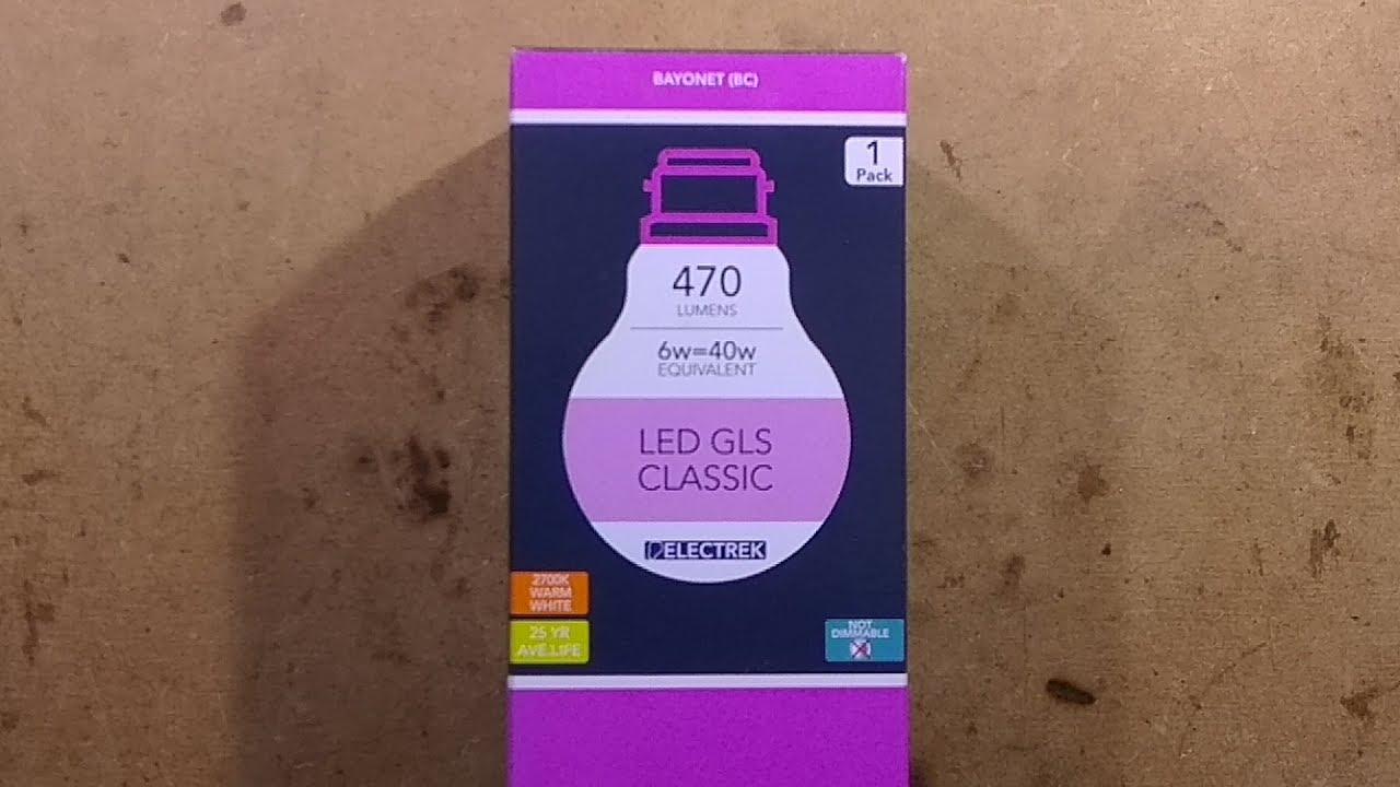 poundland 6w led lamp teardown with schematic  [ 1280 x 720 Pixel ]