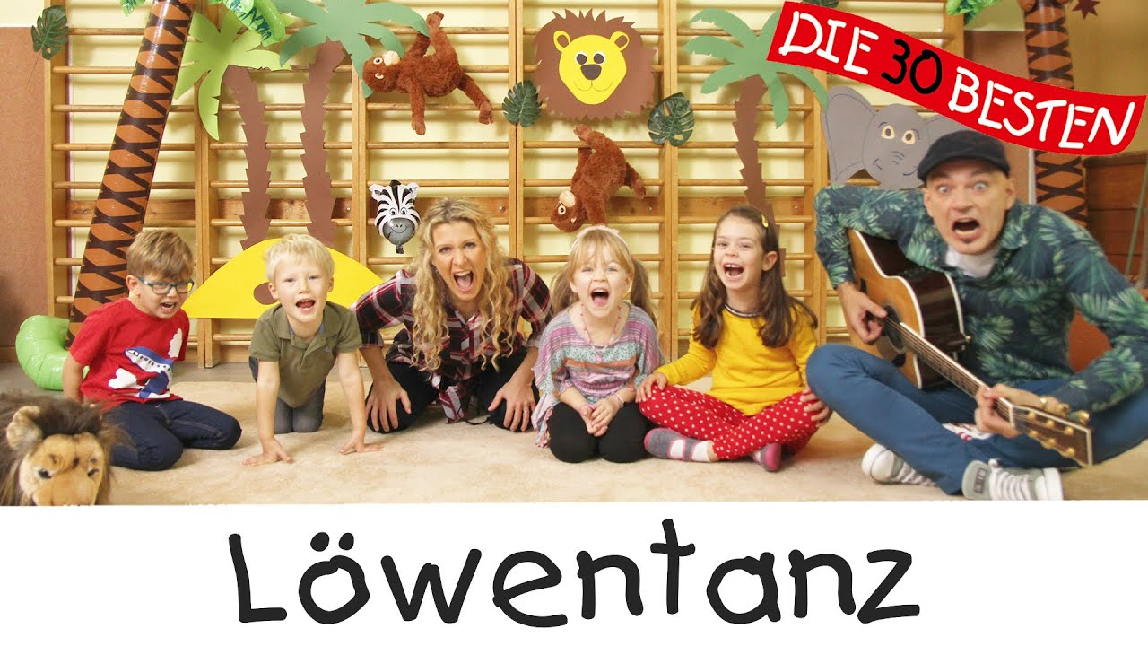 Löwentanz - Singen, Tanzen und Bewegen || Kinderlieder