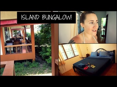 Island Bungalow//Koh Samui 2015 Vlog 1 | Topless Cat Lady