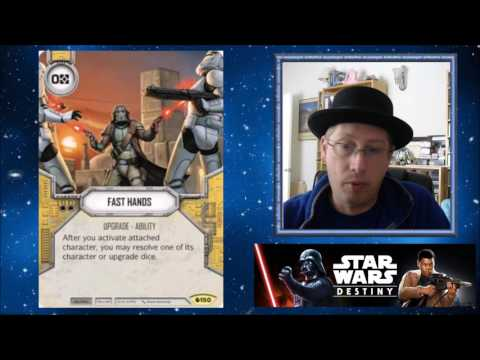 Star Wars Destiny - Spoiler Week Continues / Slave 1