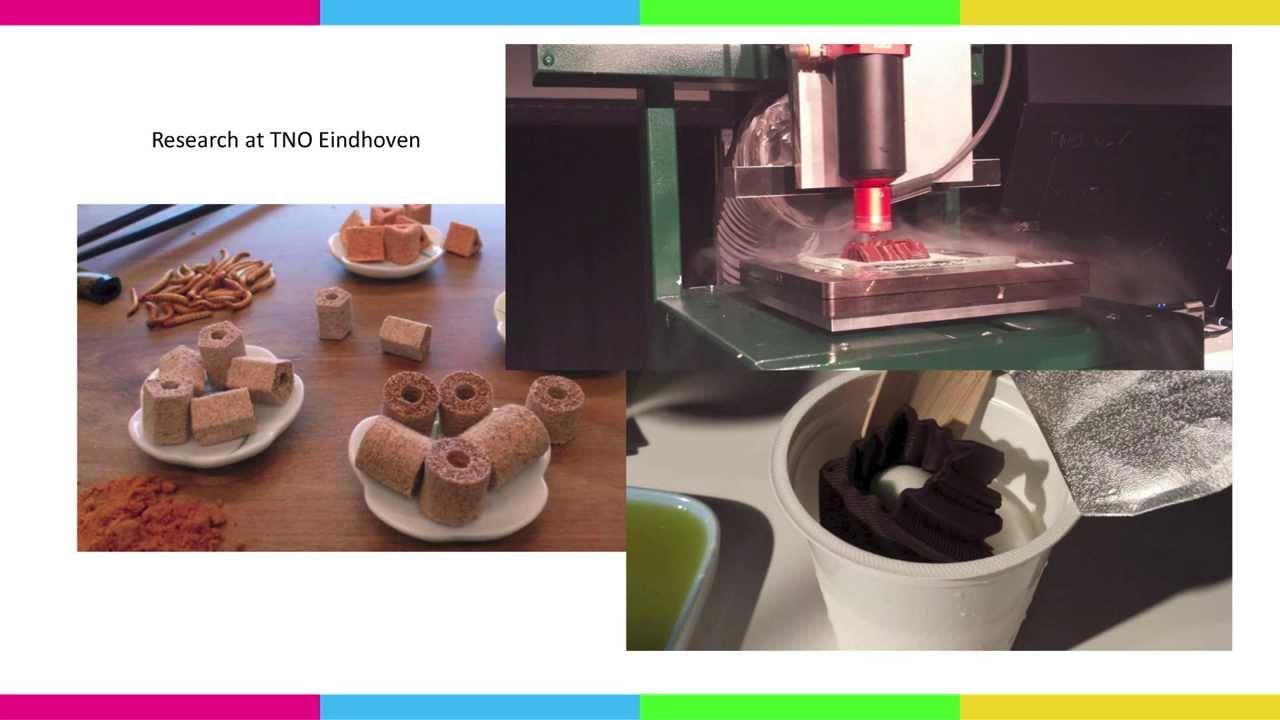 FabLabCon2013: Floris Hoff - 3D Food Printing