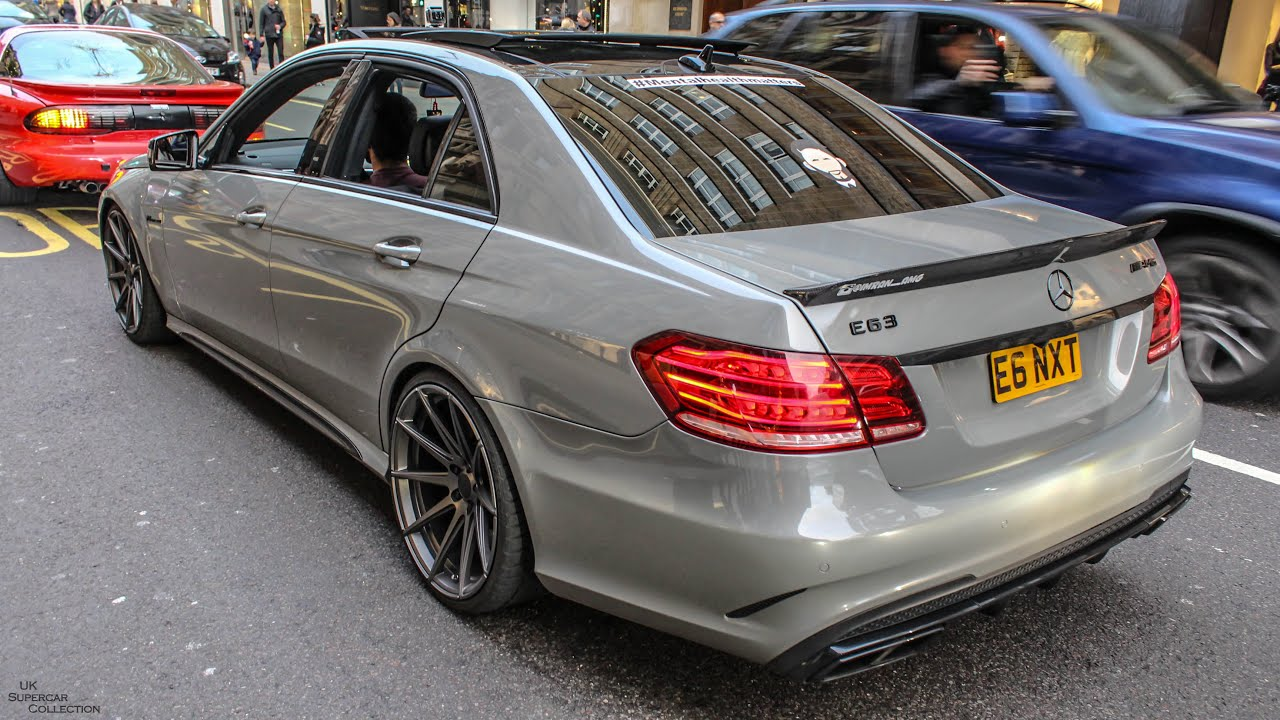 Mercedes E63 Amg W Straight Pipes Decat Exhaust