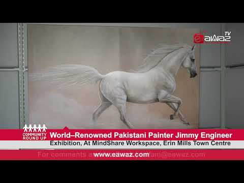 Community Round Up World–Renowned Pakistani Painter Jimmy Engineer