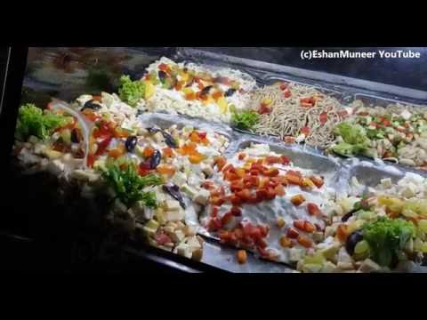 Varieties of Salads | Fresh Salad | Salad Bar | Moon Market Iqbal Town | Lahore Street Food II