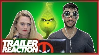 The Grinch OFFICIAL TRAILER REACTION | SENSORY DEPRIVATION