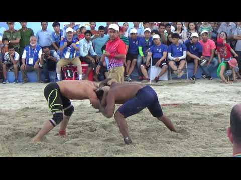 Asian Beach Games Danang 2016 - Beach Wrestling Video