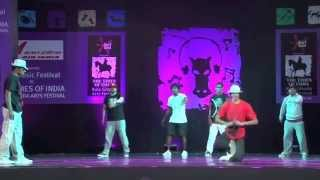 Street Dance Show | KunduDance Collective | Kala Ghoda Art Fest | Mumbai, India