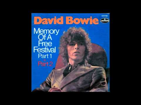 David Bowie- Memory of A Free Festival (Single Version)